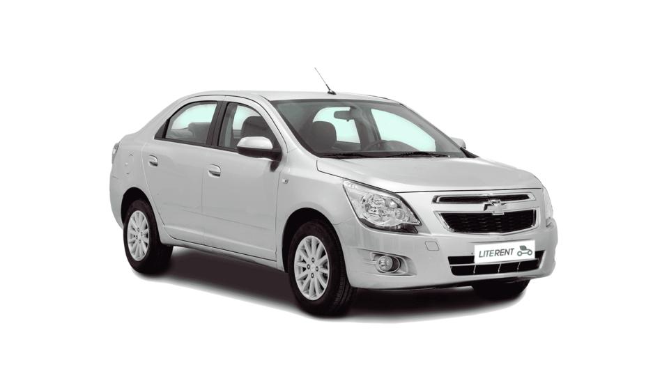 Chevrolet Cobalt 1.6 (Серебряная)