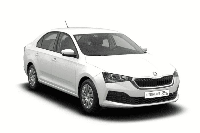 Skoda Rapid 1.6 2020 (White)